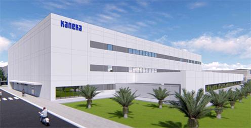 工場情報_カネカ _新工場のイメージ図