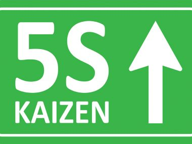 5S kaizen