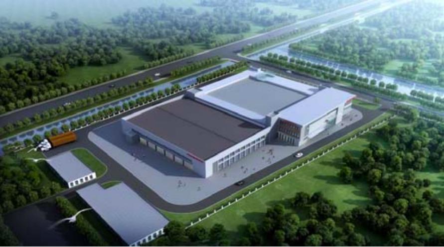 工場情報_愛知電機_新工場の俯瞰図