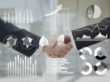 ビジネス グラフ データ