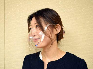 「近大マスク」着用イメージ