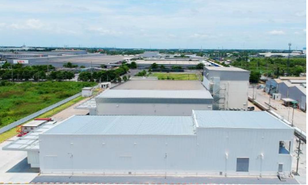 工場情報_ニップンタイランド_手前の建物が今回竣工した冷凍生地製造工場