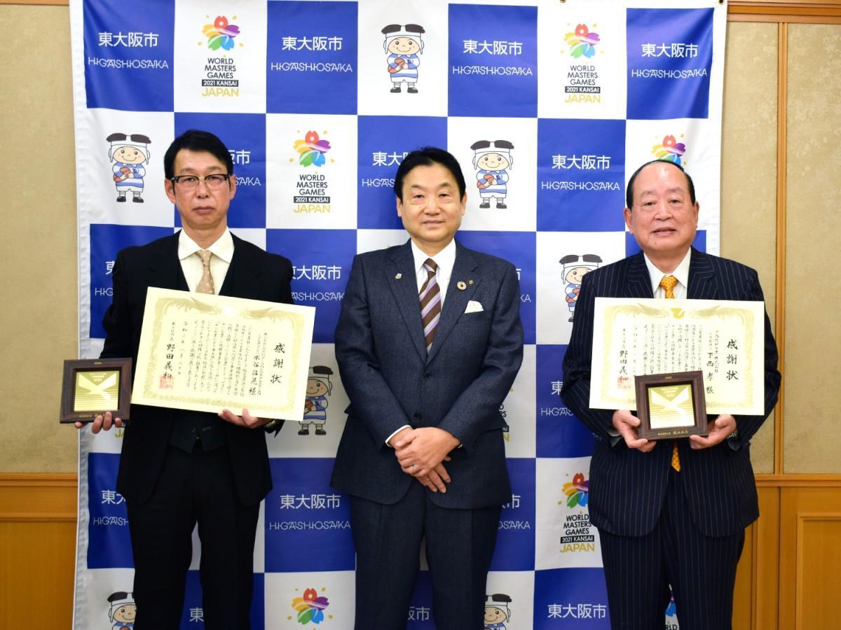 「はばたく中小企業・小規模事業者」に東大阪市内から2社入選 市が感謝状
