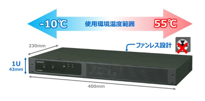 オムロン、Network-Edge用無停電電源装置『BVシリーズ』を発売 使用環境温度-10~55℃、ファンレス設計