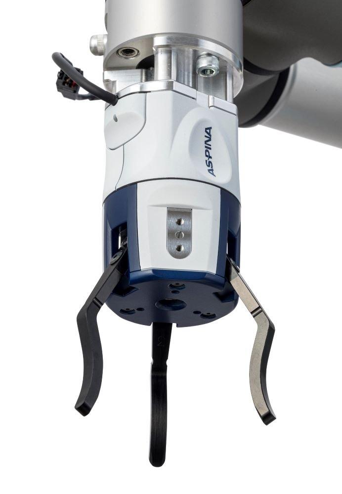 ASPINA、電動3爪ロボットハンドの新製品『ARH350A』を販売開始 既存モデルの約10倍の把持力