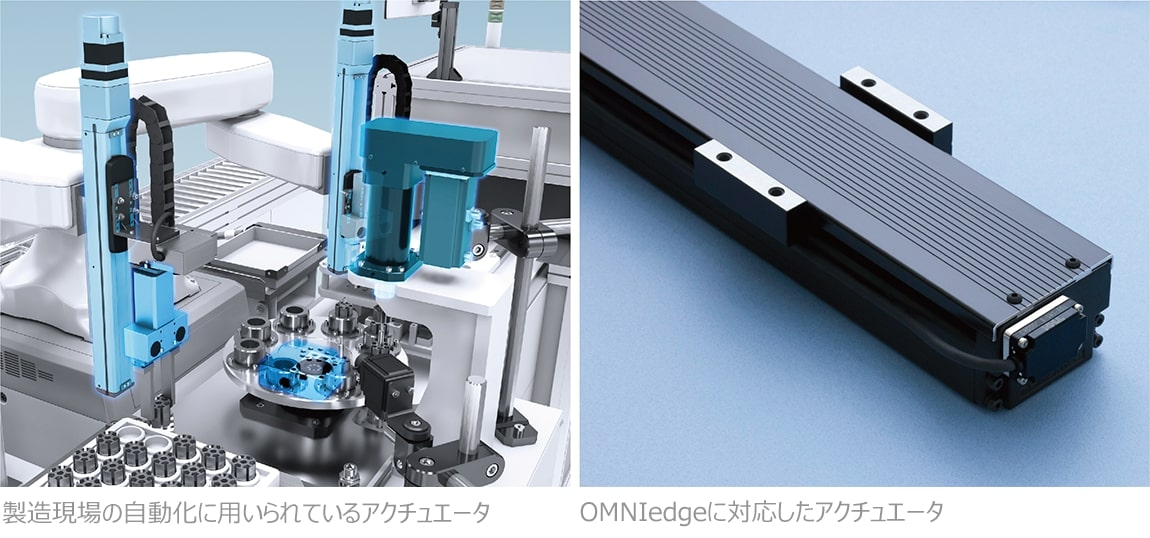 THKの製造業向けIoTサービス『OMNIedge』 アクチュエータへの対応開始