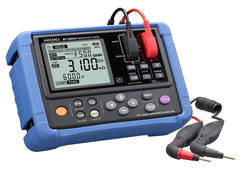 HIOKI、バッテリテスタ『BT3554-50』を発売 鉛蓄電池の劣化診断を効率化