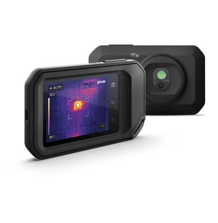 フリアーシステムズがコンパクトサーモグラフィカメラの新製品『FLIR C3-X』を発表