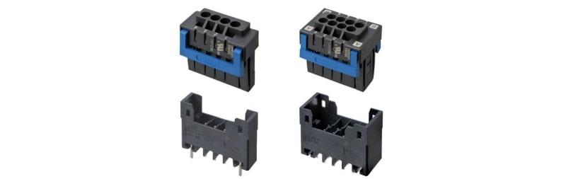 オムロン、独自の2枚ばね構造を採用したプッシュイン端子台基板用コネクター『XW4M/XW4N』を発売
